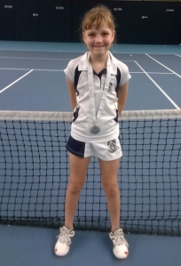 Kirsty 2nd Place National Tennis Centre Grade 4