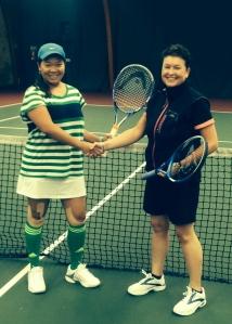 Grace & Elaine Ladies Singles Finalist
