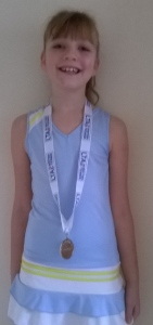 Kirsty 2nd Place at Kingsley Grade 4
