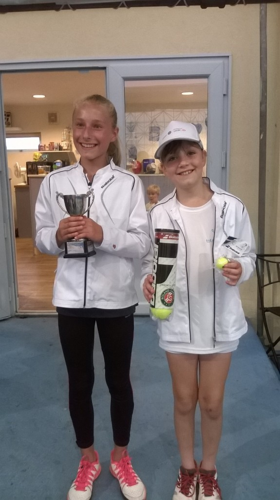 Kirsty 2nd place Road to Wimbledon