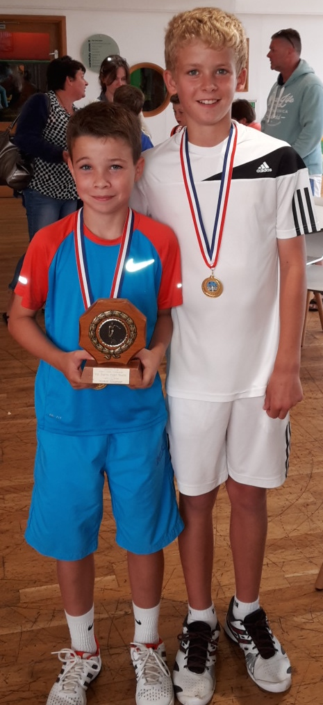 Aaron Eastleigh Open U12 doubles