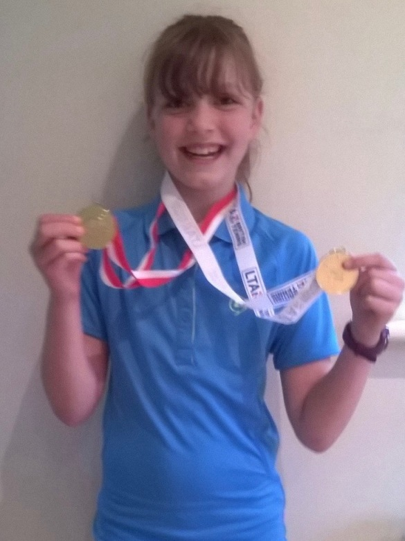 Kirsty double gold