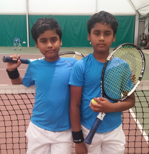 Guhan and Gevin in Oxford tournament