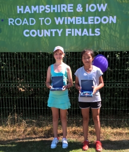 Kirsty runner up at Road to Wimbledon